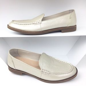 Sperry Waypoint Leather Almond Toe Smoking Loafers